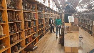Ганапольские Штаты Америки: магазин ковбойских сапог, шляп и аксессуаров в Остине