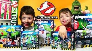 Παιχνίδια Playmobil Ghostbusters Όλοι η Συλλογή Unboxing Greek Ελληνικά για παιδιά