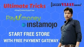 Ultimate Trick to Start Free Store with Payment Gateway | #StartOnlineStoreFree