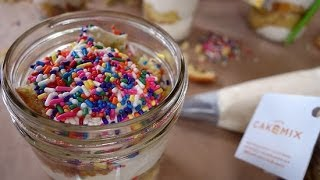 Confetti Cake in a Jar? Duff Goldman Shows Us How!  Just Add Sugar