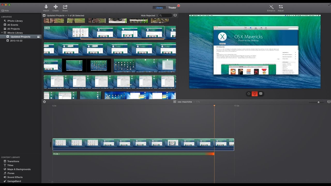How To Add Voiceover In Imovie Version 10 1 4 Youtube