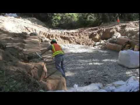 Removing Salmon-Blocking Culverts In Forests