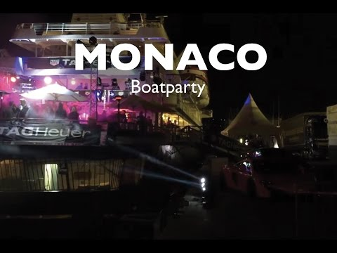 MONACO YACHT CLUB - Boat Party during F1 Race