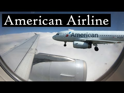 हॉलीवूड विमान प्रवास   मराठी   American Airline Review   Charlotte To Los Angeles