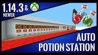 Minecraft Tutorial : Mega Potion Station All-in-ONE  V4