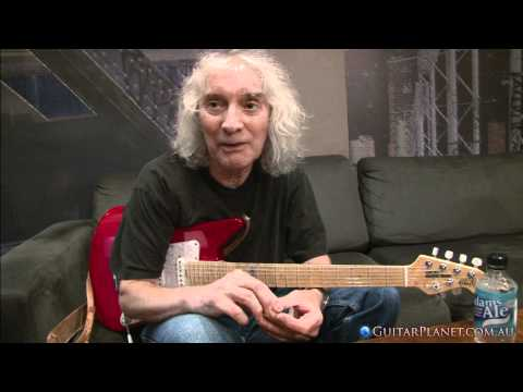 Albert Lee talks about his Music Man Signature Guitar