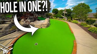 CAN THE RIVER GIVE US A MINI GOLF HOLE IN ONE?!