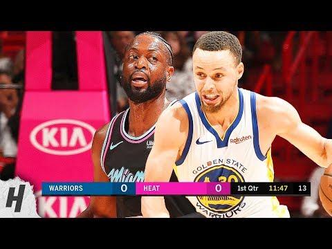 Golden State Warriors vs Miami Heat - Full Highlights | February 27, 2019 | 2018-19 NBA Season