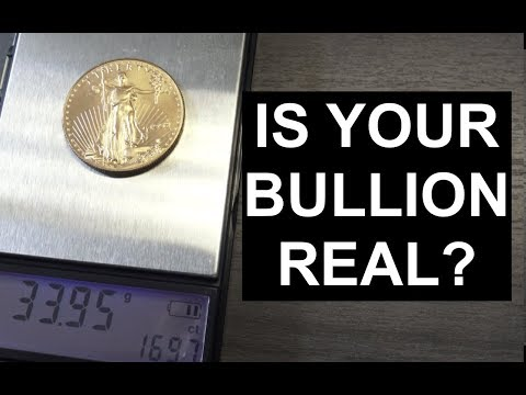 Test Silver Gold Bullion: Specific Gravity | SDBullion.com