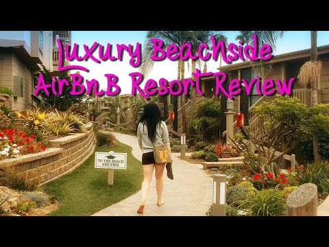 Luxury Beachside AirBnB Condo Review and Shenanigans! - Oceanside, CA