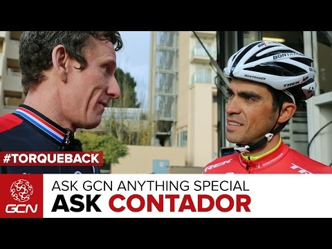 Alberto Contador Special Episode | Ask GCN Anything Cycling ...