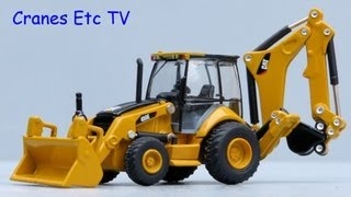 Norscot Caterpillar 450E Backhoe Loader by Cranes Etc TV