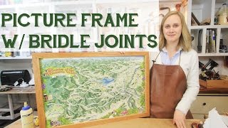 Making A Cherry Wood Frame With Bridle Joints