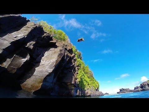 Cliff Jumping Maui 2015