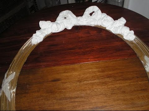 Restauraci n de marcos colada en yeso por la bladousse - Cuadros de escayola ...