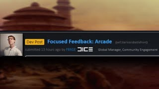OFFICIAL FOCUSED FEEDBACK FOR ARCADE!