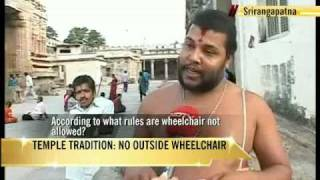 Temple wheelchair row: Priest speaks to NDTV