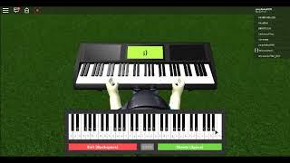 silent night roblox piano
