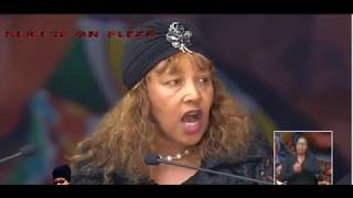 ZENANI MANDELA SPEECH TO HER MOTHER AT WINNIE MANDELA FUNERAL