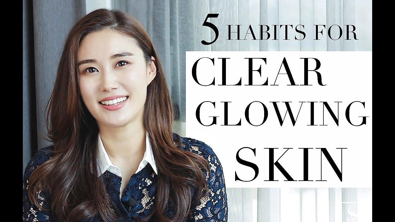 5 HABITS FOR HEALTHY SKIN | Beauty Tips