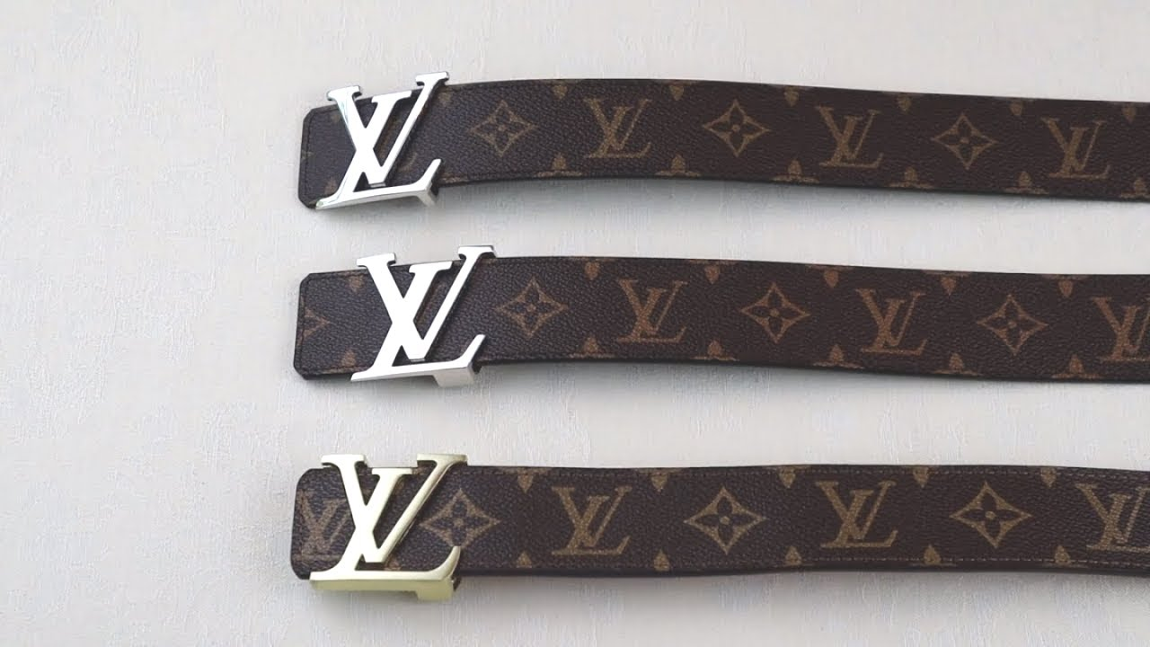 5038bb3dc973 HOW TO SPOT A FAKE LOUIS VUITTON BELT