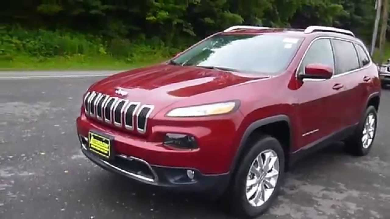 2016 Jeep Cherokee Limited Suv Sodus Ny Lessord Chrysler Products You