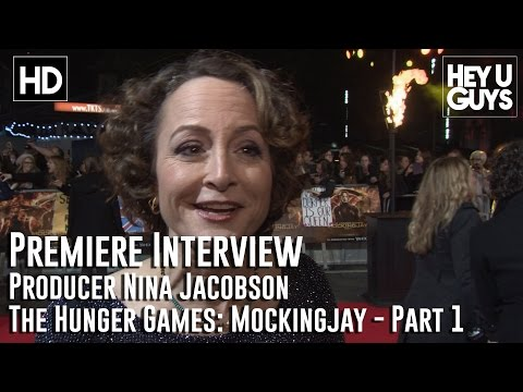 Producer Nina Jacobson Interview - The Hunger Games Mockingjay Part 1 Premiere