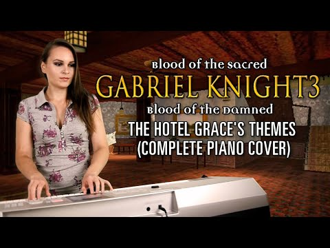 Game music played - Gabriel Knight 3 - The Hotel Grace's themes [fully complete]