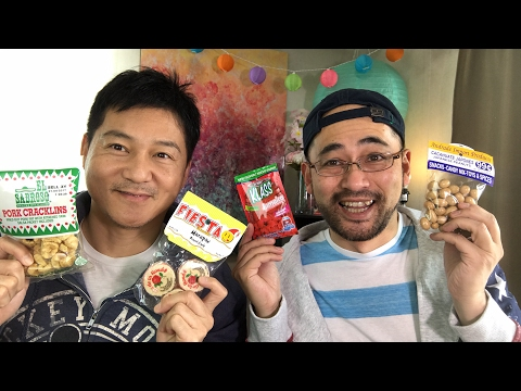 Trying Mexican Snacks & Treats LIVE