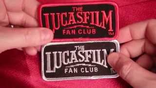 Vintage STAR WARS Lucasfilm Fan Club patch. HD