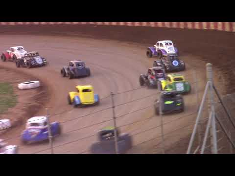 8/12/18 Legends Feature Angell Park Speedway