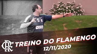 TREINO DO FLAMENGO - Ceni prepara equipe para jogo pelo Brasileirão