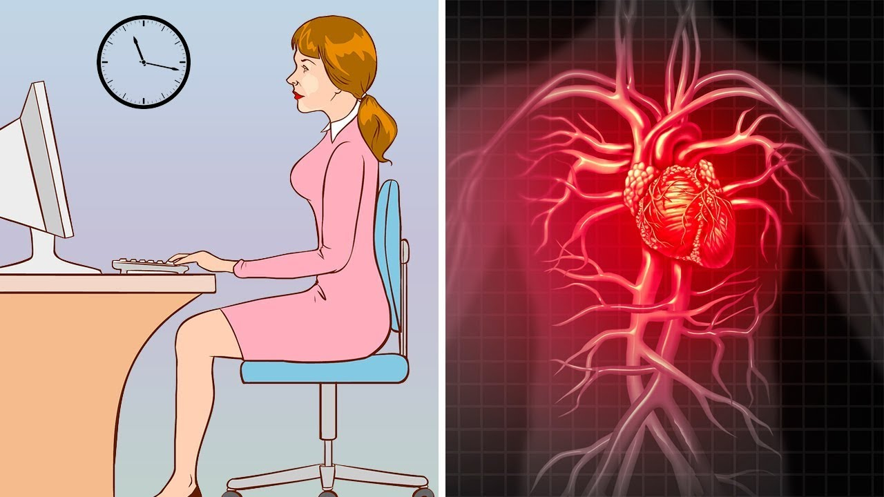 Here's What Sitting Too Long Does to Your Body