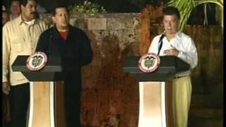 サントス大統領とチャベス大統領の会談にホンジュラス大統領ロボが乱入 ...