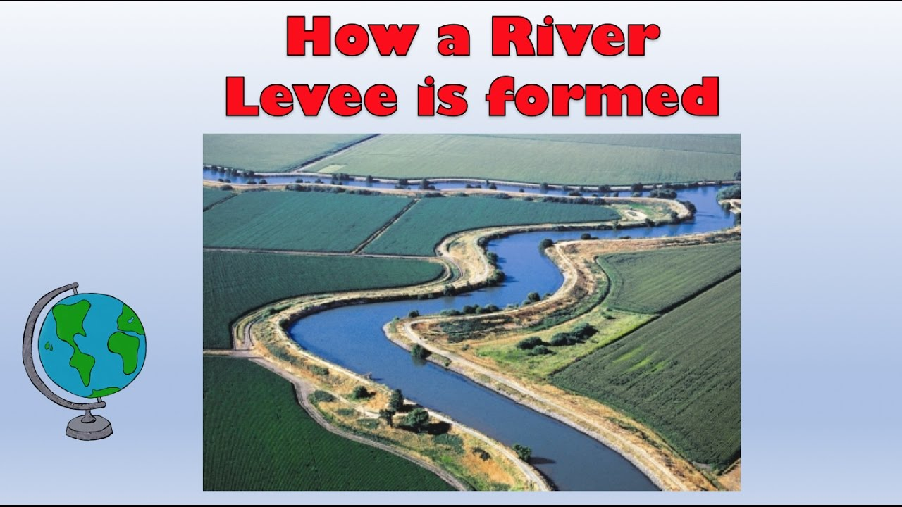 Natural River Levees - How are they formed? Labelled diagram and ...