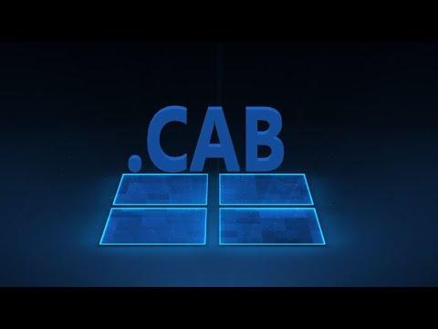 """Как добавить """"Установку файла CAB"""" в контекстное меню Windows 10"""