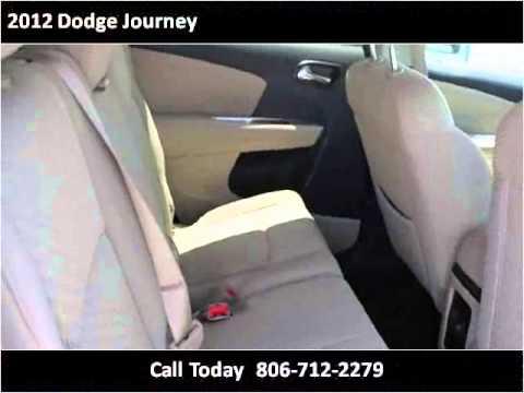 2012 Dodge Journey Used Cars Lubbock Tx Youtube