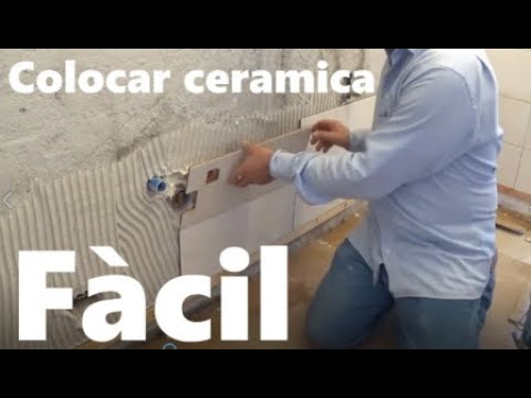 C Mo Colocar Ceramica En La Pared Youtube