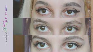 Мой макияж глаз Три вида стрелок для сложной формы глаз