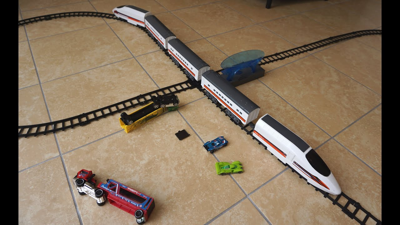 Toys R Us Trains : Toys r us fast lane b o bullet train youtube