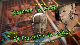 Fallout 4 Obtenir le casque et l armure de robot