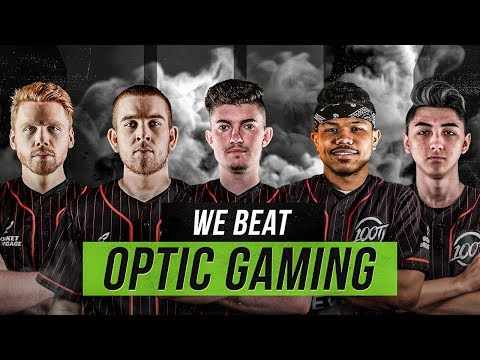 WE BEAT OPTIC GAMING IN CALL OF DUTY (100T vs OpTic Wagers) thumbnail