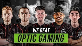 WE BEAT OPTIC GAMING IN CALL OF DUTY (100T vs OpTic Wagers)