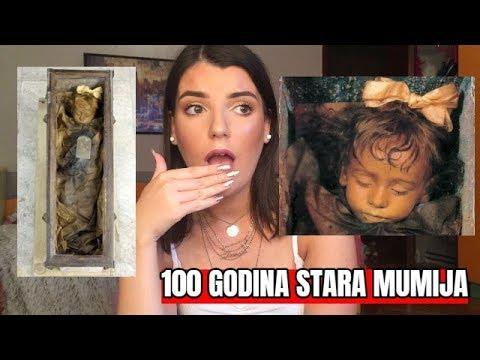 Rosalia Lombardo - mumija iz 1920.....