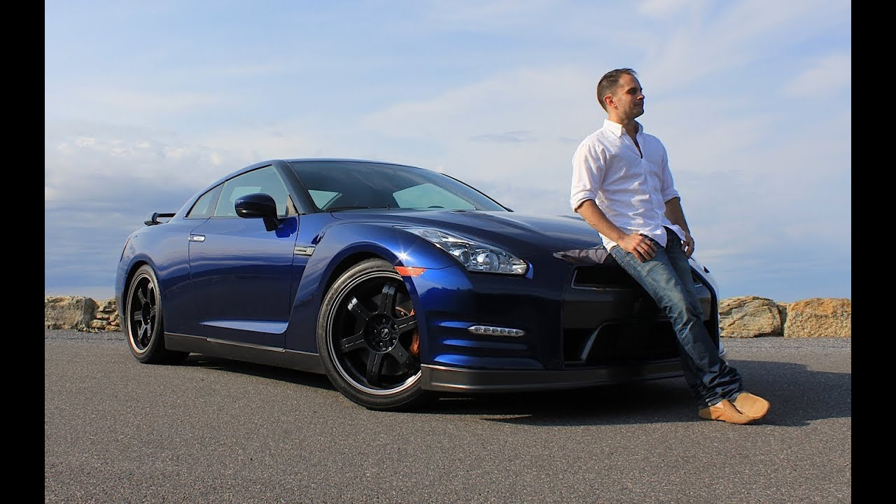 nissan gt-r black edition 2013 review & test drive with ross