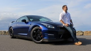 Nissan GT-R Black Edition 2013 Review & Test Drive with Ross Rapoport by RoadflyTV