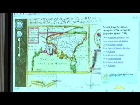 Mapping Carolina: Edward Crisp - A compeat description of the province of carolina in 3 parts (1711)