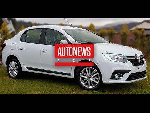 Обновленный Renault Logan засветился в реальных условиях