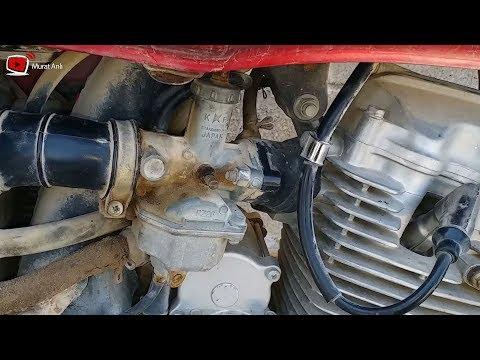 Motorsiklet Gaz Teli Nasıl Değiştirilir.How To Replace A Motorcycle Gas Wire