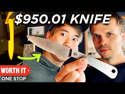 Eating A $132 Steak With A $950.01 Knife